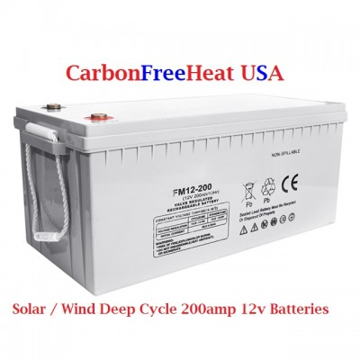 200 Amps 12v Deep Cycle Battery