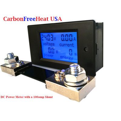 DC 6.5-100V 4 in 1 LCD Digital Meter