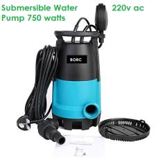 Garden Submersible Water Pump 750W