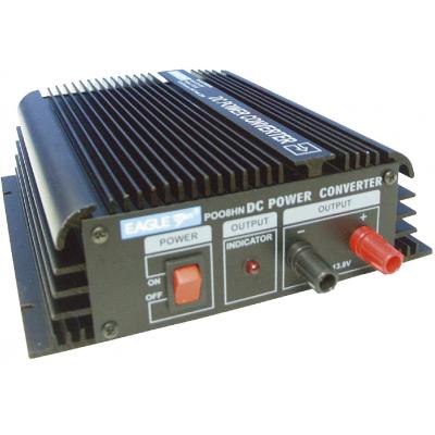 24VDC to 13.8VDC Converter 20A, Black