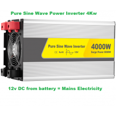 Pure Sine Wave Power Inverter 4000 watts
