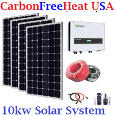 10kw Solar Panel System - On Grid System