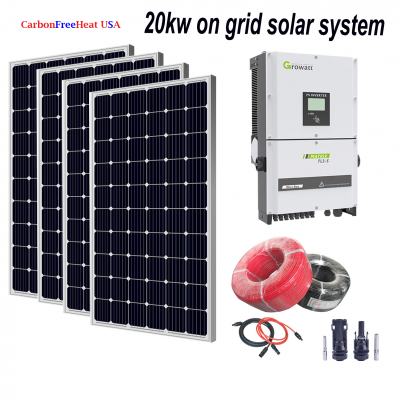 20kw Solar Panel System - On Grid System