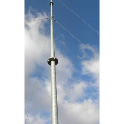 9m Wind Turbine Tower - Guyed Cabled