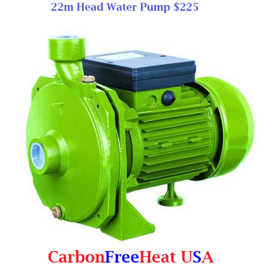 22m Head Water Pump